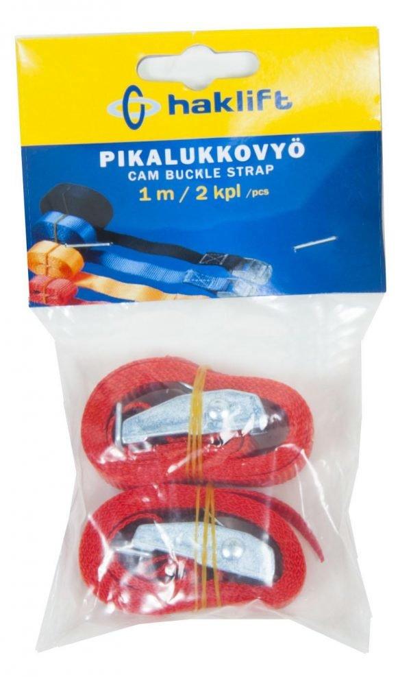 Haklift Pikalukkovyö 1 M 2 Kpl