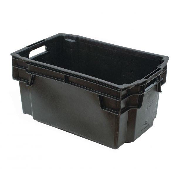 Muuttolaatikko Musta 50 L