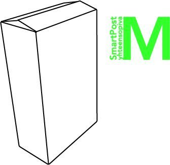 Pahvilaatikko SmartPost M 340x180x580/500mm