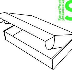 Pahvilaatikko SmartPost S 580x340x100mm
