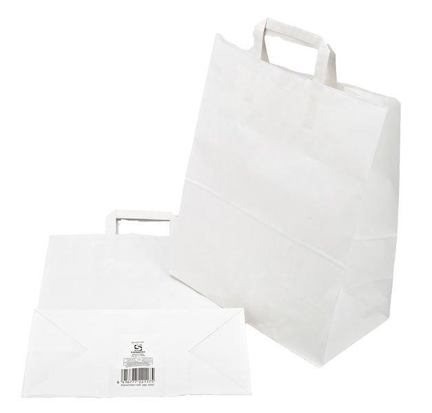Paperikassi valkoinen 40x32x17cm