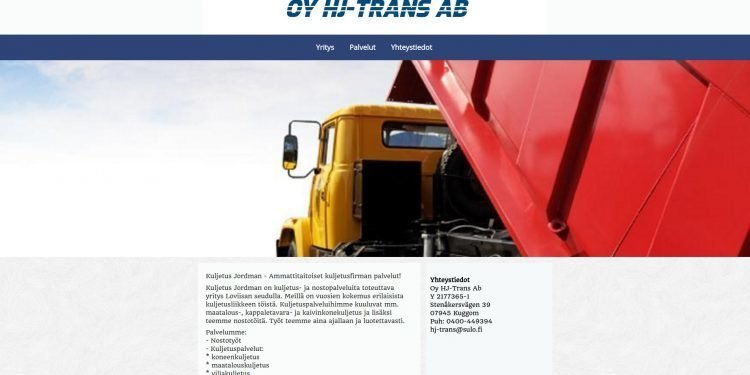 Oy HJ-Trans Ab