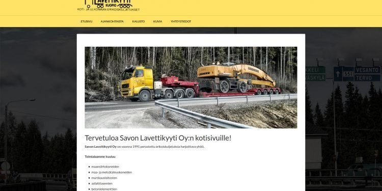 Savon Lavettikyyti Oy